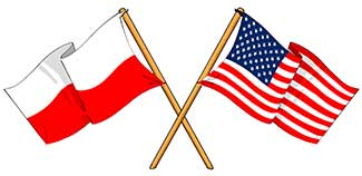 polish american flags